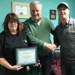 Employees of the Month - November - Paul and Brenda Fillier